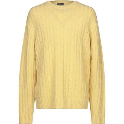 ロッソプーロ ROSSOPURO メンズ ニット・セーター トップス sweater Yellow