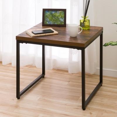 幅55cm サイドテーブル(ステイン5055 MBR) ニトリ 『玄関先迄納品』 『1年保証』