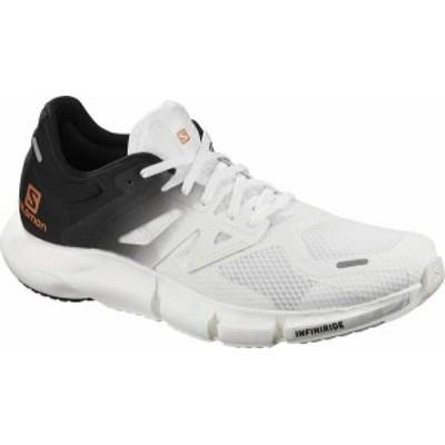 サロモン メンズ スニーカー シューズ Men's Salomon Predict 2 Running Sneaker White/Black/White