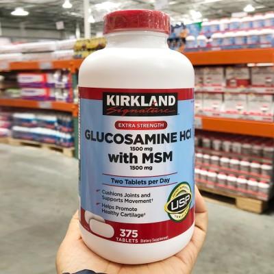 カークランドグルコサミン1500mg MSM 1500mg 375錠