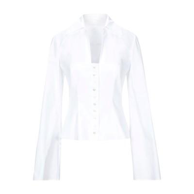 サラ・バッタグリア SARA BATTAGLIA シャツ ホワイト 40 コットン 100% シャツ