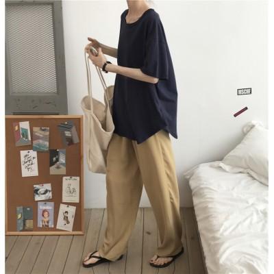 🎗【クーポン併用で最安値更新】⭐韓国ファッション レディース おしゃれ ファッション女性無地シャツ / ズボン