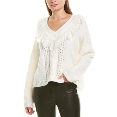 ナネットレポー ニット&セーター アウター レディース Nanette Lepore Wool-Blend Sweater ivory