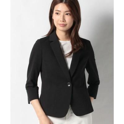 レリアン テーラードジャケット(ブラック)【返品不可商品】