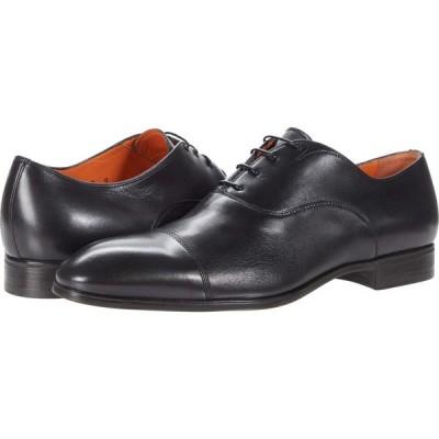 サントーニ Santoni メンズ 革靴・ビジネスシューズ シューズ・靴 Salem Black