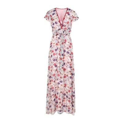 LUCKYLU  Milano ロングワンピース&ドレス ライトピンク 44 ポリエステル 100% ロングワンピース&ドレス