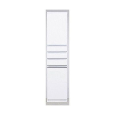 40cm幅 板戸 ピッタリ置ける スペースボード 本棚 すき間棚 ホワイト 隙間 スキマ