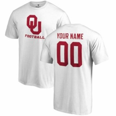 Fanatics Branded ファナティクス ブランド スポーツ用品  Fanatics Branded Oklahoma Sooners White Personalized One