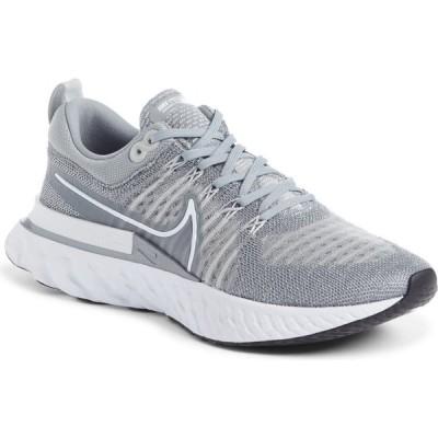 ナイキ NIKE レディース ランニング・ウォーキング シューズ・靴 React Infinity Run Flyknit 2 Running Shoe Particle Grey/White/Black