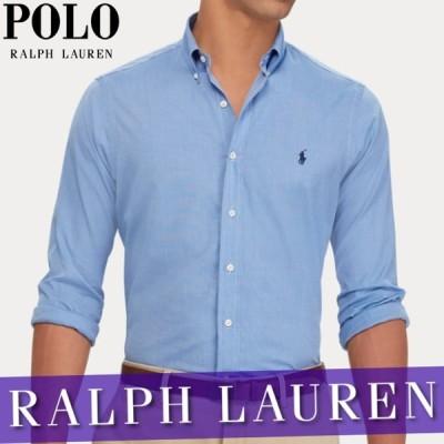 ポロ ラルフローレン カジュアルシャツ 長袖 メンズ クラシックフィット チェック オックスフォード シャツ XS~XXL 新作