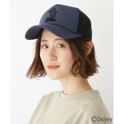 BASESTATION / DISNEY ディズニー ミッキーマウス/メッシュキャップ CAP WOMEN 帽子 > キャップ