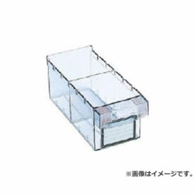 TRUSCO 樹脂製引出し 内寸111X264X108 透明 MM1 [r20][s9-810]