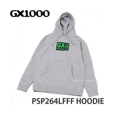 ジーエックスセン フーディー GX1000 PSP264LFFF Hoodie パーカー プルオーバー トップス ストリート スケートボード スケボー Col:Gry
