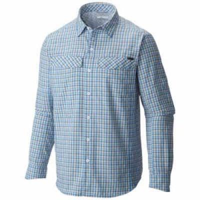 コロンビア シャツ Silver Ridge Plaid L/S Shirt Pacific Blue Ripstop Plaid