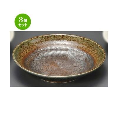 3個セット ☆ 麺皿 ☆ 民芸藍流し7.5麺皿 [ 229 x 50mm ] 【蕎麦屋 定食屋 和食器 飲食店 業務用 】