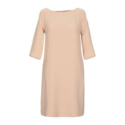 OTTOD'AME ミニワンピース&ドレス サンド 44 ポリエステル 94% / ポリウレタン 6% ミニワンピース&ドレス