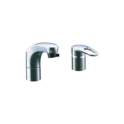 LIXIL(リクシル) INAX 洗面器・手洗器 台付 ホース引出式シングルレバー洗 (未使用・未開封品)