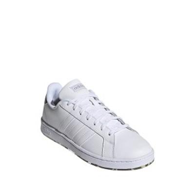 アディダス メンズ スニーカー シューズ Grand Court Leather Sneaker FTWWHT/FTW