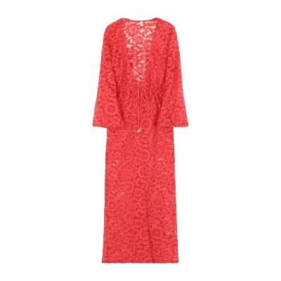 LULI FAMA ビーチドレス オレンジ XS ナイロン 89% / ポリウレタン 11% ビーチドレス