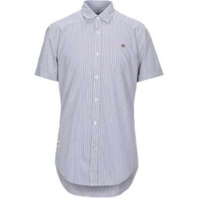 ナパピリ NAPAPIJRI メンズ シャツ トップス Striped Shirt White