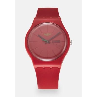スワッチ 腕時計 メンズ アクセサリー REDVREMJA UNISEX - Watch - red