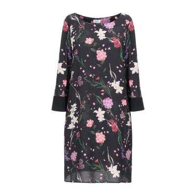 リュー ジョー LIU •JO ミニワンピース&ドレス ブラック 38 ポリエステル 97% / ポリウレタン 3% ミニワンピース&ドレス