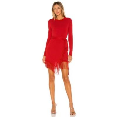 ハウスオブハーロウ1960 House of Harlow 1960 レディース ワンピース ワンピース・ドレス x REVOLVE Anisha Fringe Dress Red