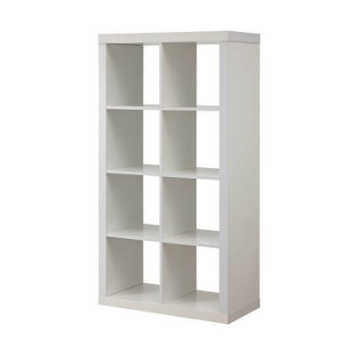 Better Homes and Gardens Furniture 8-Cube Room Organizer Storage Divider/Bookcase (White) 並行輸入品 送料無料