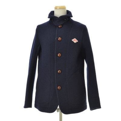 DANTON / ダントン JD-8243 WOOL MOSSER ウールモッサ ラウンドカラー ウールジャケット