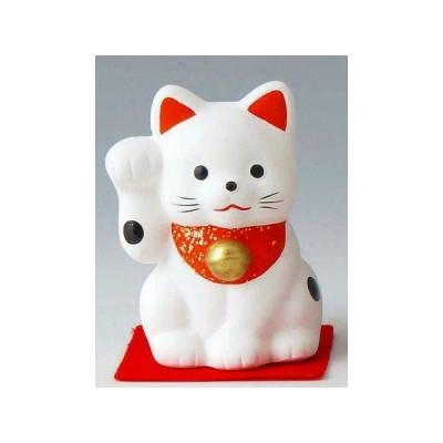 ミニ招き猫 大 白(右) ポイント消化
