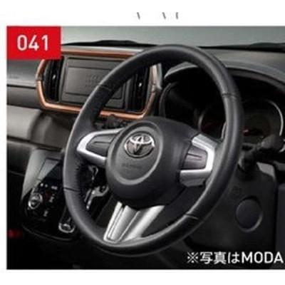 パッソ 革巻きステアリング トヨタ純正部品 M700A M710A  パーツ オプション