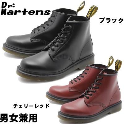 ドクターマーチン 101 6ホール ブーツ メンズ レディース 1033-0095