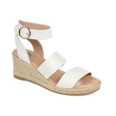 ジャーニーコレクション レディース サンダル シューズ Women's Norra Wedge Sandal White