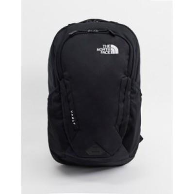 ノースフェイス メンズ バックパック・リュックサック バッグ The North Face Vault backpack in black TNF black