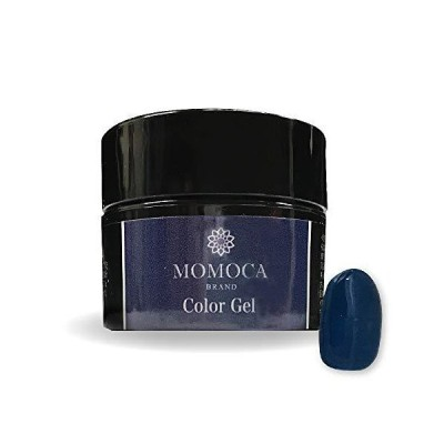 MOMOCA モモカ ジェルネイル サロン品質 高発色 長持ち プロ仕様 ネイルサロン ネイリスト (507M Cold blue コールドブルー)