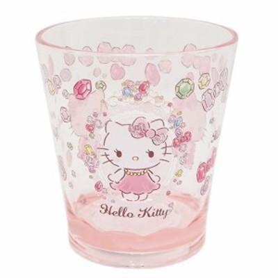 ◆ハローキティ カラークリスタルカップ/ビジュー【サンリオアニメキャラ】プレゼント、贈り物、お土産,キャラクターグッツ通販、(C1)