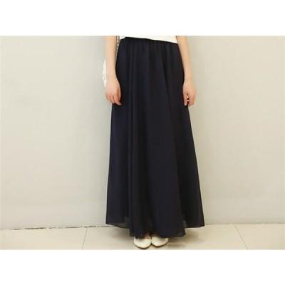 スカート 体型カバー レディース ロングカート ゆったり ファション 大きいサイズ パンツ 可愛い 春 秋