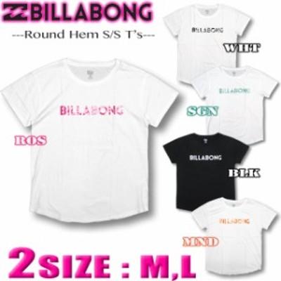 ビラボンBILLABONGレディース Tシャツ ドロップショルダー ゆったり アウトレット サーフブランド AJ013-217