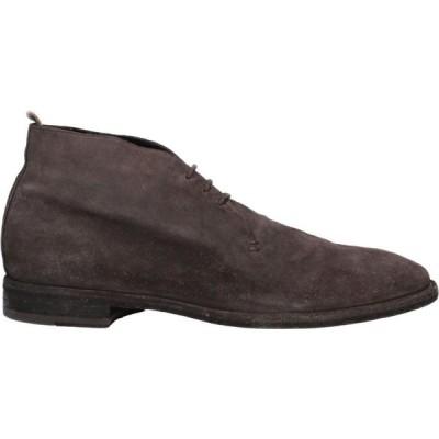 オフィチーネ クリエイティブ OFFICINE CREATIVE ITALIA メンズ ブーツ シューズ・靴 boots Dark brown