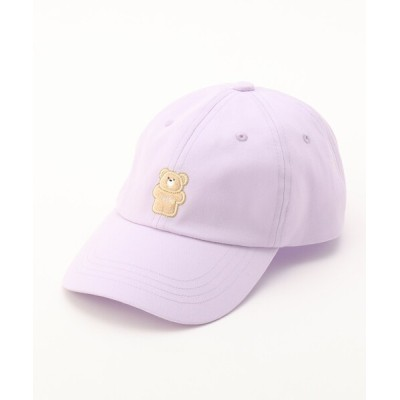 WORLD ONLINE STORE SELECT / もこクマワッペンキャップ KIDS 帽子 > キャップ