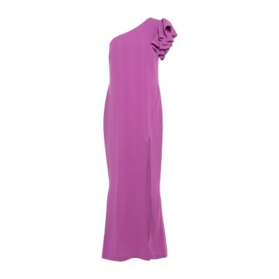 HH COUTURE ロングワンピース&ドレス ライトパープル XS ポリエステル 100% ロングワンピース&ドレス