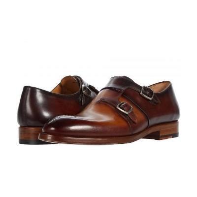 Magnanni マグナーニ メンズ 男性用 シューズ 靴 オックスフォード 紳士靴 通勤靴 Maurici - Cuero/Mid Brown