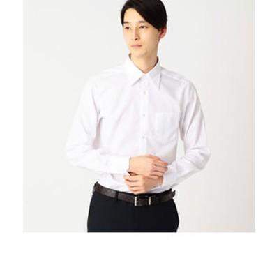 イージーケア ドレスシャツ 市松ジャガード(レギュラーカラー)