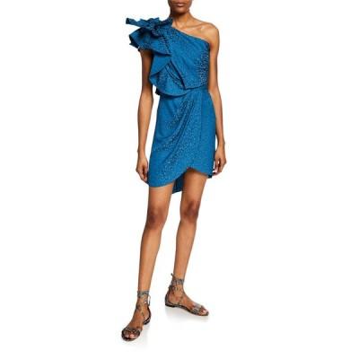 ジョアンナオッティ レディース ワンピース トップス Opponent Interpretation Jacquard One-Shoulder Dress