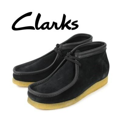 【スニークオンラインショップ】 クラークス Clarks ワラビー ブーツ メンズ WALLABEE ブラック 黒 26134611 ユニセックス その他 UK8.0-26.0 SNEAK ONLINE SHOP