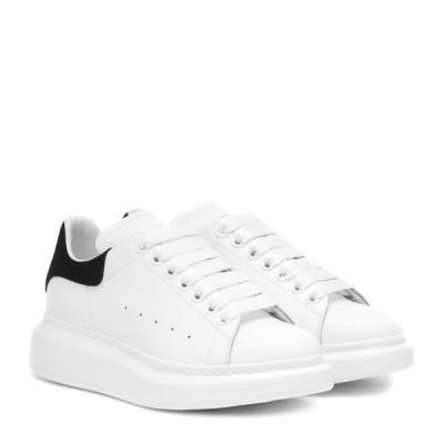 アレキサンダー マックイーン Alexander McQueen レディース スニーカー シューズ・靴 leather sneakers White Black