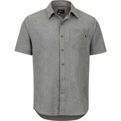 マーモット Marmot メンズ 半袖シャツ トップス Aerobora Short - Sleeve Shirt Cinder