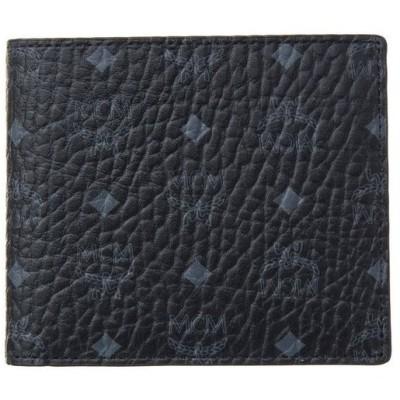エムシーエム 財布 二つ折り財布 MCM MXS8SVI66BK001