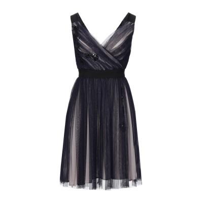 トラサルディ ジーンズ TRUSSARDI JEANS ミニワンピース&ドレス ダークパープル 40 ナイロン 100% ミニワンピース&ドレス