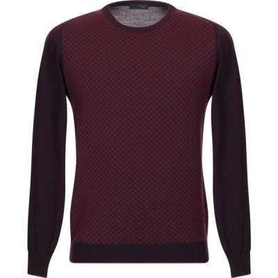 ドルモア DRUMOHR メンズ ニット・セーター トップス sweater Maroon
